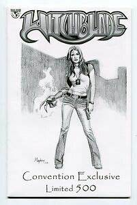 Witchblade #61 Mike Mayhew Sketch Variant 2003 Comic Con ...