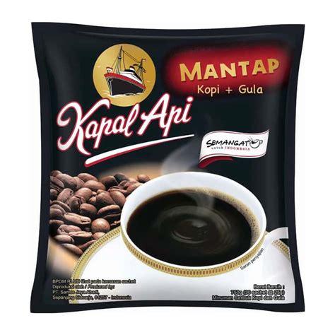 jual kapal api kopi gula rasa mantap  gram isi