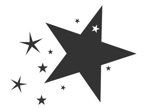 vorlagen sterne tafelfolie wandtattoo mit kleinen sternen wandtattoos de