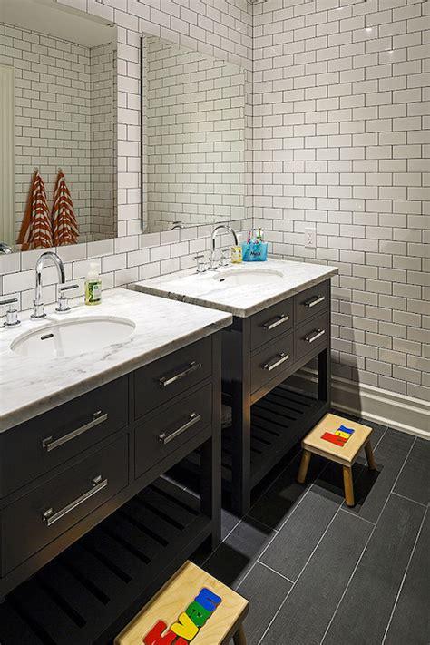 subway tile  dark grout design ideas