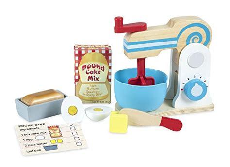 Melissa & Doug Wooden Make-a-cake Mixer Set ( Pcs