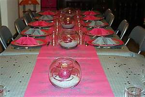 Deco Table Rose Et Gris : recette d 39 id e de d co de table gris fushia ~ Melissatoandfro.com Idées de Décoration