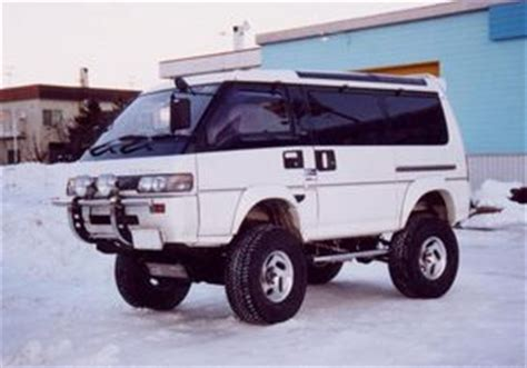 Mitsubishi L300 Modification by Mitsubishi Delica 4x4 Best Photos And Information Of