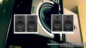 Review of the World's CHEAPEST Studio Monitors from ...