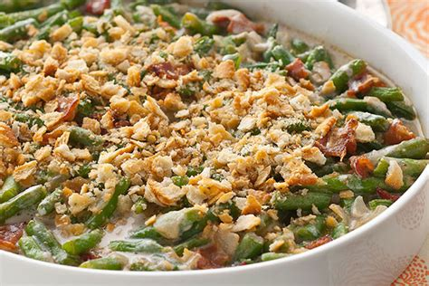 fresh green bean casserole  food  family