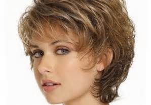 Short Hairstyles Women Over 50 Wavy Hair