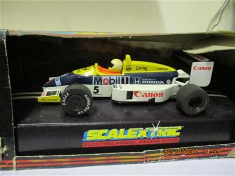 cars  scale scalextric  slot car williams honda