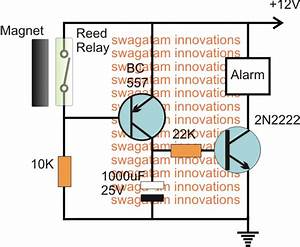 Door Security Alarm Circuit