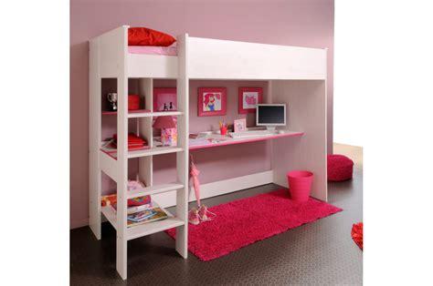 lit sureleve avec bureau lit surélevé combiné avec 1 bureau snoopy cbc meubles