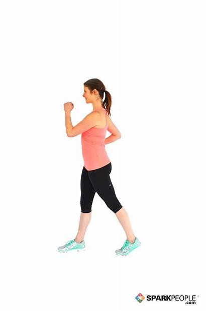 Step Forward Touch Basic Exercises Exercise Position