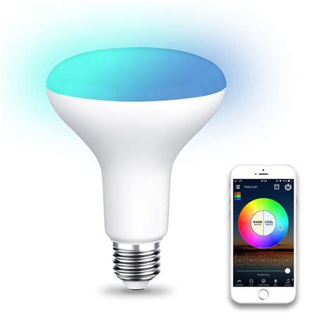 wifi br led flood light bulb tunable white color