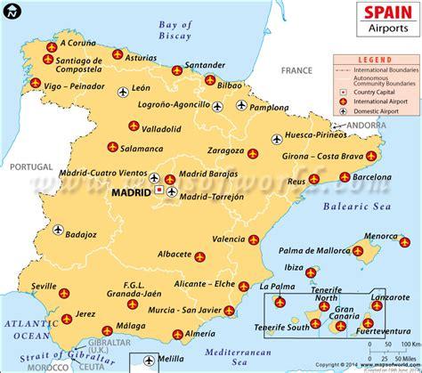 map  airports  tenerife    print