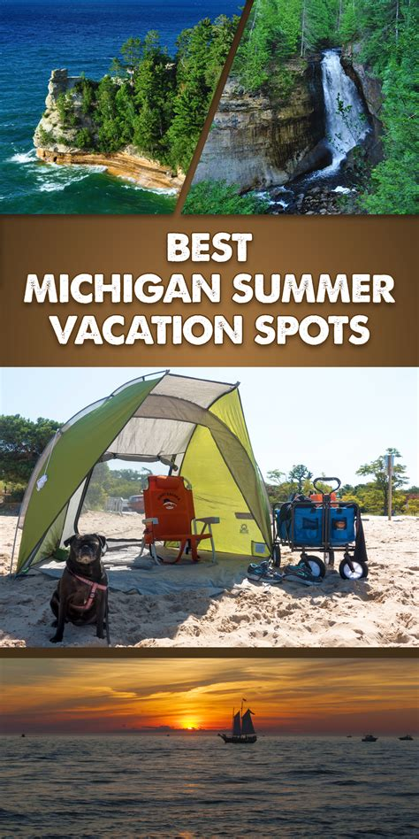 best michigan summer vacation spots thyme love
