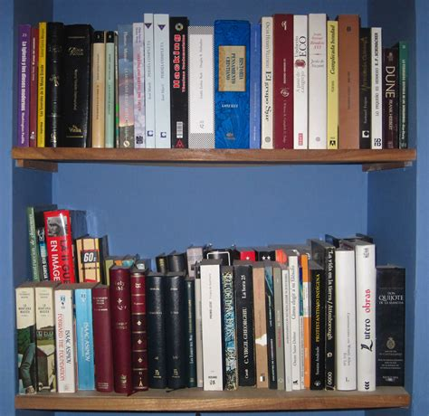 build your own bookshelves file two bookshelves of books belonging to