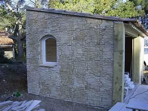 facade en pierre pour un pool house aubagne 13 With amenagement jardin maison neuve 14 facade en pierre pour un pool house aubagne 13