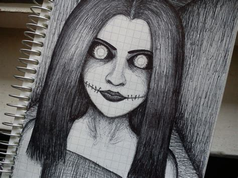 Horror Sketch By Younit13 On Deviantart