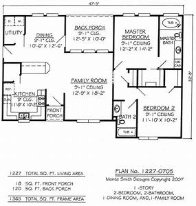 two bedroom two bathroom house plans joy studio design With 2 bedroom and 2 bathroom house plans