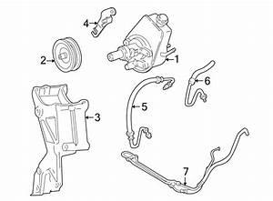 Chevrolet Astro Power Steering Pump Bracket  Rear   2wd
