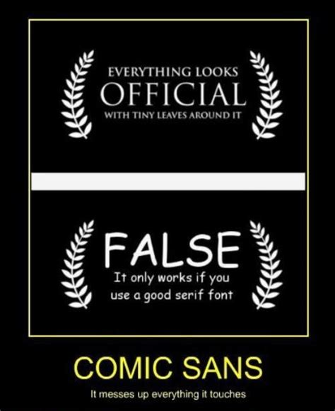 Font Used In Memes - 37 best just say no to comic sans images on pinterest comic sans typography and letterpresses