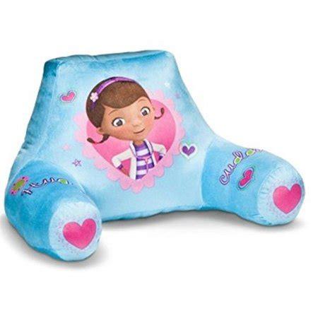 doc mcstuffins pillow doc mcstuffins back rest bed pillow walmart