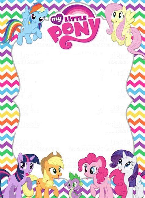 pony invitation template kaydens  birthday