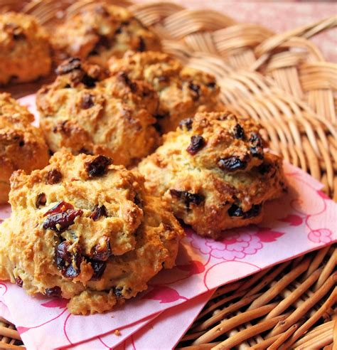 rock recipe not so naughty cranberry rock cakes buns for a healthy baking challenge lavender and lovage