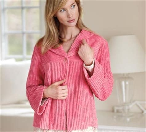 chenille bed jacket hettie cotton blend chenille bed jacket my style