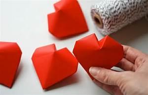 Herzen Basteln Mit Kindern : das origami herz in 100 einmaligen bildern ~ Frokenaadalensverden.com Haus und Dekorationen