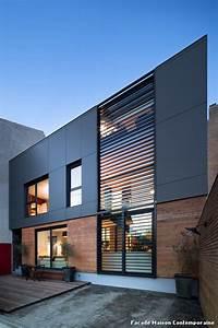 emejing facade maison moderne images design trends 2017 With les facades des maisons