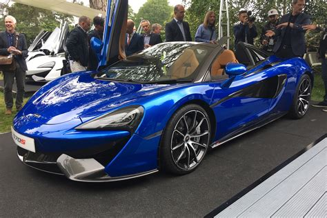New Mclaren 570s Spider Revealed