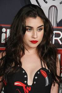 Lauren Jauregui Wavy Dark Brown Long Layers, Loose Waves ...