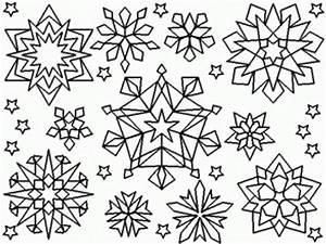 free snowflake coloring pages - free snowflake coloring pages coloring home