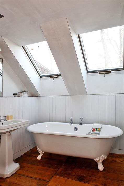 Tub In Shower - 23 gorgeous bathrooms that unleash the radiance of skylights