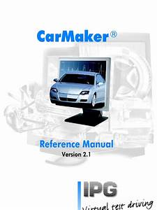 Ipg Carmaker Reference Manual