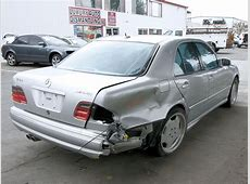 2000 Mercedes E55 AMG W210 Parts Car Stock #005628