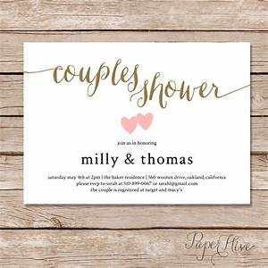 couples shower invitation couples wedding shower invite With couples wedding shower invites