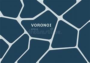 Cellule De Voronoi Illustration Stock  Illustration Du