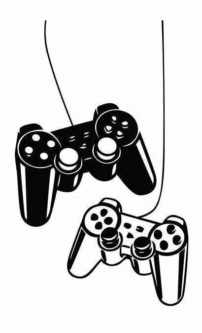 Decal Playstation Gaming Joystick Sticker Vinyl Wallpapers