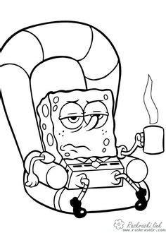 Spongebob Coloring Pages | Spongebob drawings, Spongebob coloring, Cartoon coloring pages