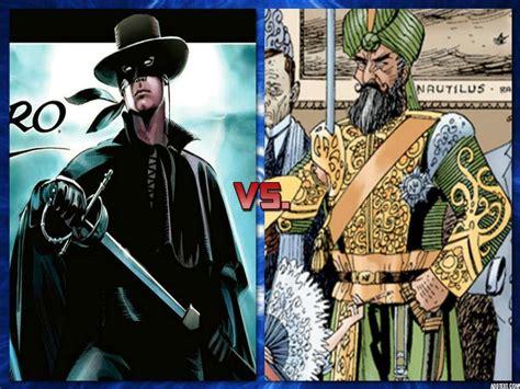 Zorro (dynamite Comics Version) Vs.captain Nemo (league Of