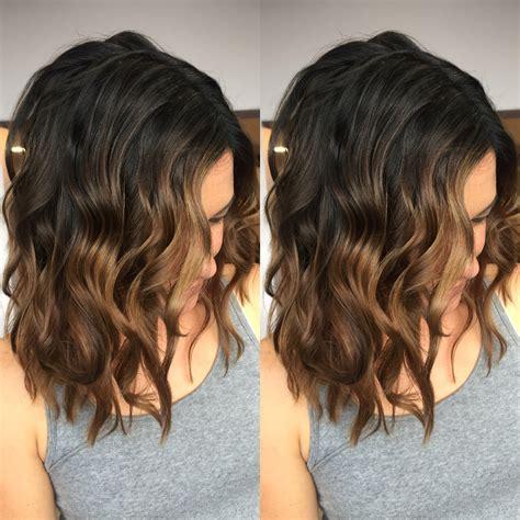 dark brown hair with light brown ombre dark brown to light brown balayage hair pinterest