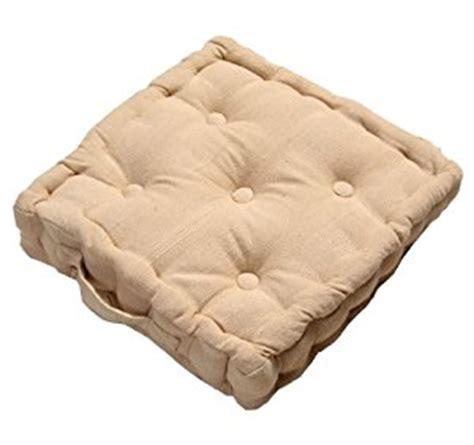 coussin rehausseur chaise coussin de sol topiwall