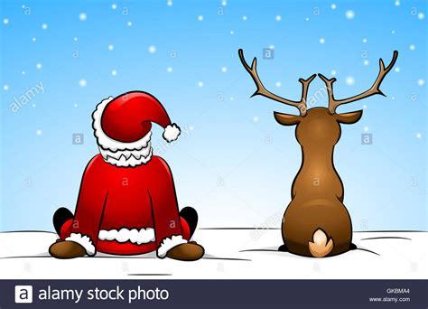 Weihnachten Vater by Comic Vater Weihnachten Nikolaus Stockfoto Bild