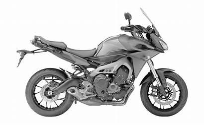 Yamaha Motorcycle Tourer Sport Animated Trademarks Cylinder