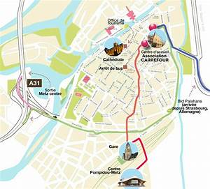 Plan De Metz : location de salle association carrefour ~ Farleysfitness.com Idées de Décoration