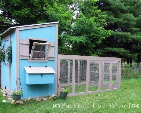 ana white build a chicken coop run for shed coop free