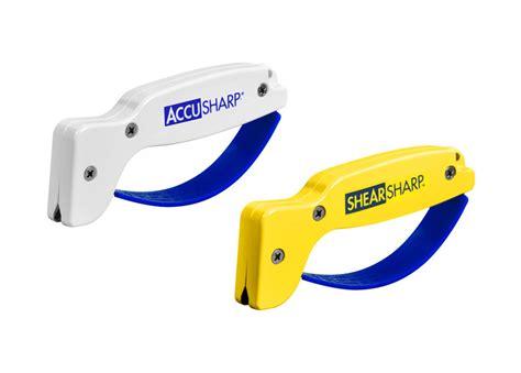 accusharp knife sharpener shear sharpener combo pack cutlery