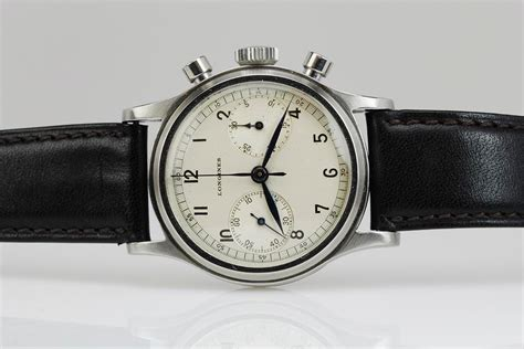 1940 Longines Chronograph Watch For Sale - Mens Vintage ...