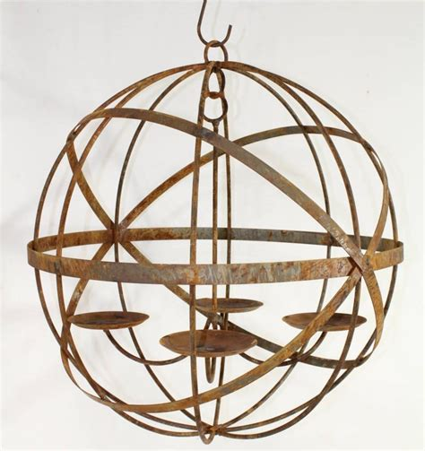 24 quot wrought iron mystic candle chandelier large light