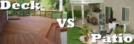 bathroom design tools the great debate deck versus patio totally home